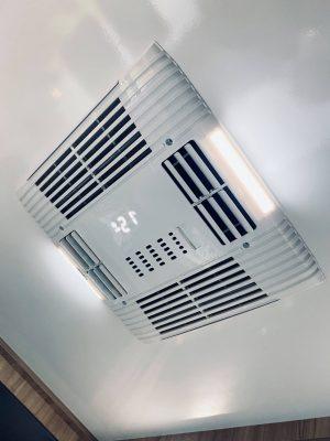 Klimatanläggning i taket